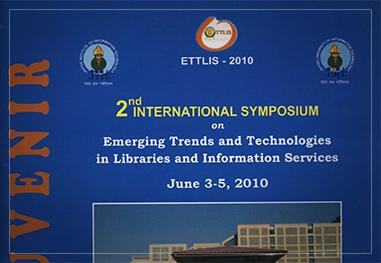 2nd INTERNATIONAL SYMPOSIUM ON ETTLIS  2010